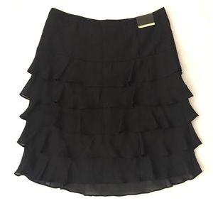 LANE BRYANT tiered ruffle skirt
